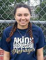 PATTON, Kayla student mgr 2017 Akins Eagles JV